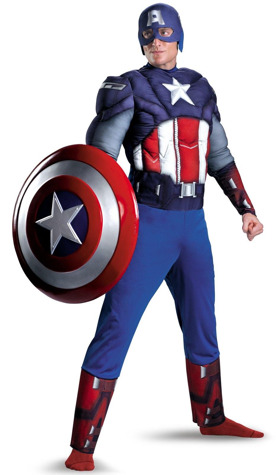 captain america costume | top superhero halloween costumes.